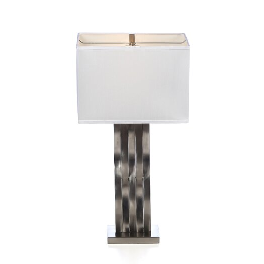 """Lite Source Hamo 30"""" H Table Lamp with Rectangle Shade"""