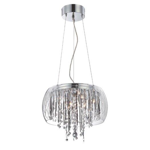 Lite Source Belladonna 8 Light Ceiling Lamp