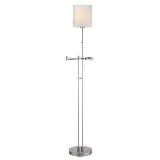 Lite Source Radko 1 Light Swing Arm Floor Lamp