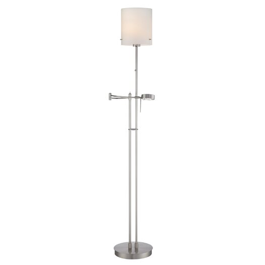 Lite Source Radko 1 Light Swing Arm Floor Lamp