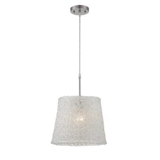 Lite Source Clare 1 Light Pendant
