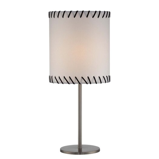 "Lite Source Lavina 23.5"" H Table Lamp with Drum Shade"