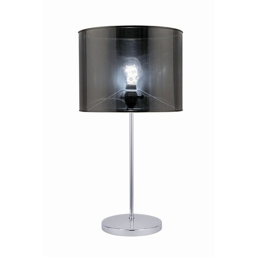 "Lite Source Lanza 23"" H Table Lamp with Drum Shade"