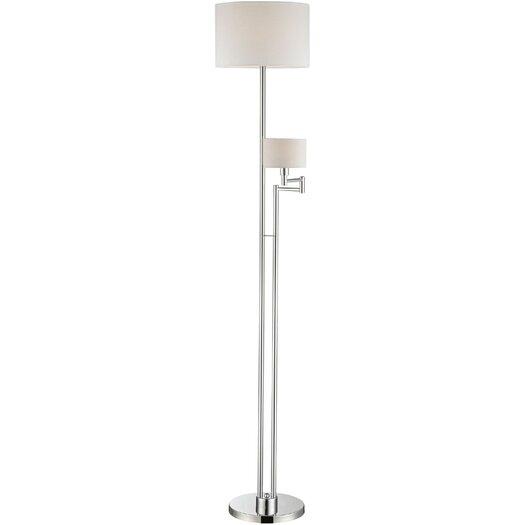 Lite Source Lise 2 Light Floor Lamp