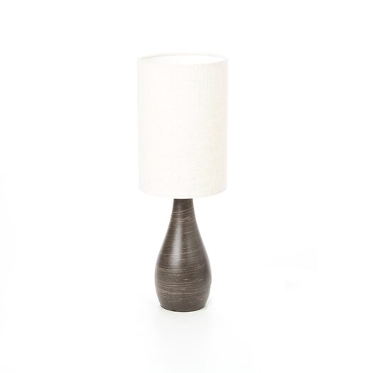 Lite Source Quatro Mini Tapered Table Lamp with Drum Shade