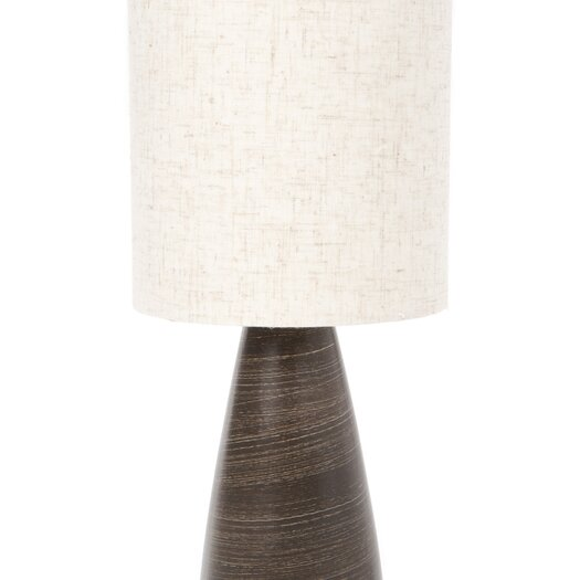 Lite Source Quatro Mini Table Lamp in Brushed Dark Bronze