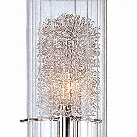 """Lite Source Torchiere 21"""" H Table Lamp with Drum Shade"""