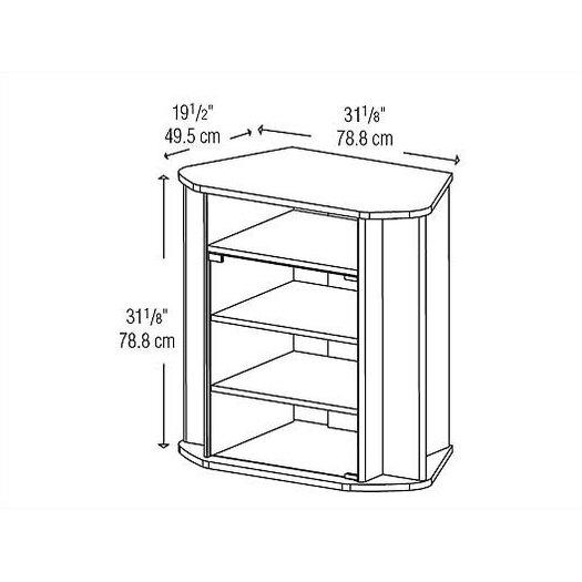 Home Loft Concept 31'' TV Stand