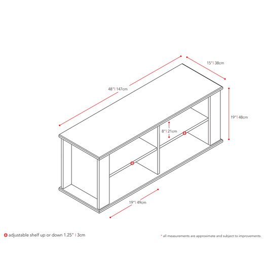 """Home Loft Concepts 48"""" TV Stand"""