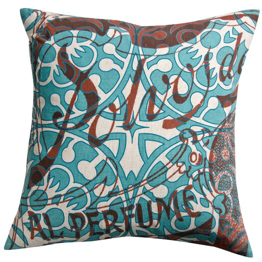 Koko Company Press Cotton Print Polvos and Tile Pillow