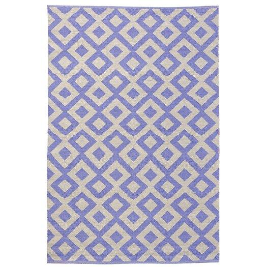 Koko Company Tile Purple Outdoor Area Rug
