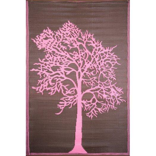 Koko Company Tree Brown / Pink Outdoor Rug