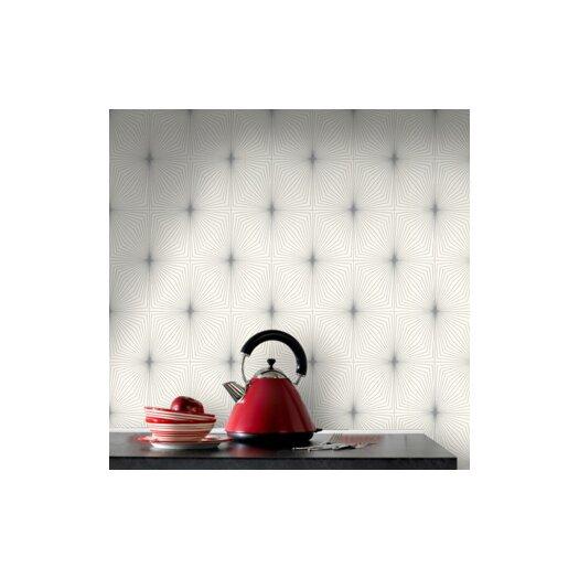 Graham & Brown Contour Kitchen and Bath Dixie Geometric Wallpaper