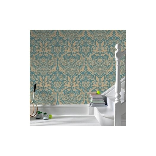 Graham & Brown Spirit Desire Damask Wallpaper