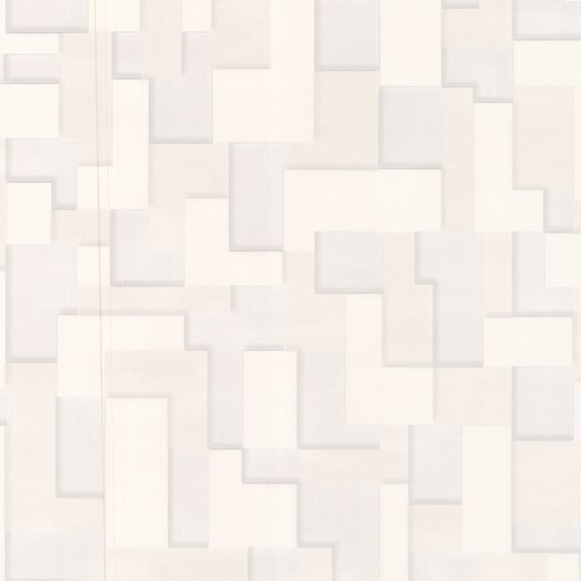 Graham & Brown Shape and Form Checker Geometric Wallpaper