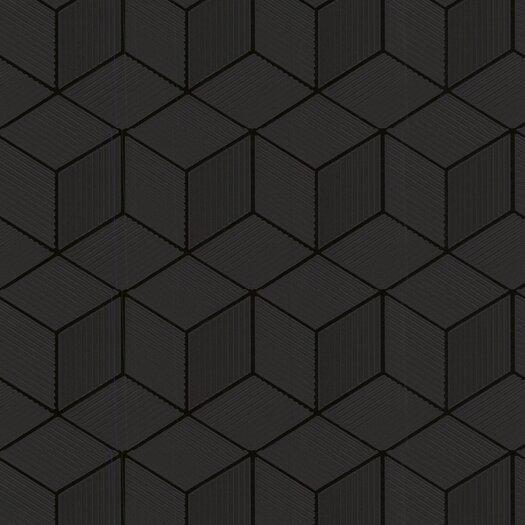 Graham & Brown Shape and Form Cubix Geometric Wallpaper
