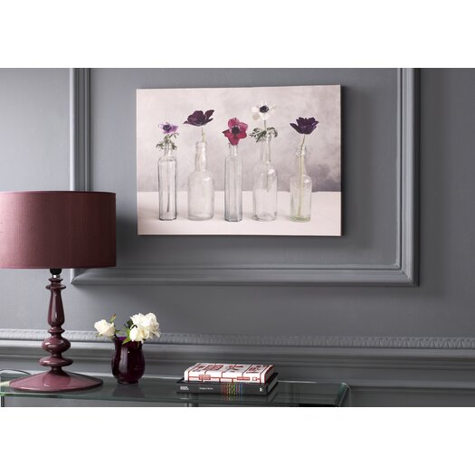 Graham & Brown Graham and Brown Floral Row Painting Print on Canvas