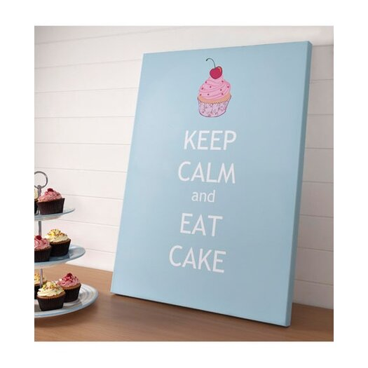 Graham & Brown Graham and Brown Keep Calm Graphic Art on Canvas