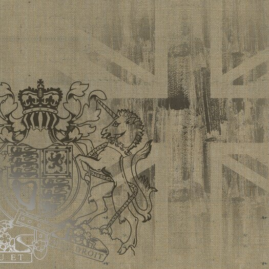 Graham & Brown Graham and Brown Coat of Arms Painting Print on Canvas