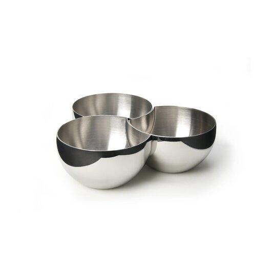 Carl Mertens Carl Mertens Liasion Cups Divided Candy / Nut Bowl
