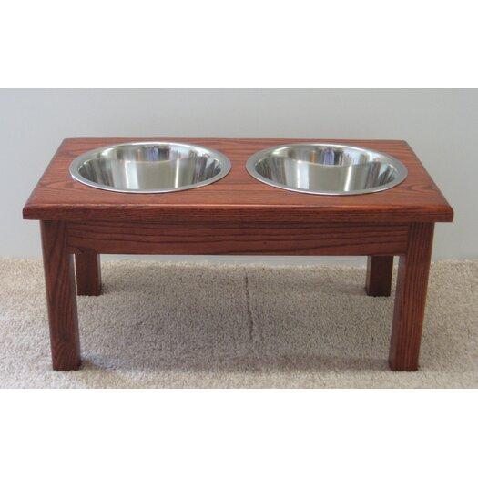 Classic Pet Beds 2 Bowl Pet Diner