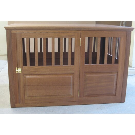 Classic Pet Beds Solid Wood Pet Crate
