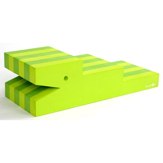 bObles Tumbling Crocodile in Lime Green