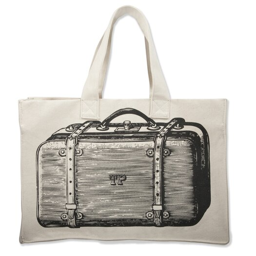 Thomas Paul Luddite Suitcase Tote Bag