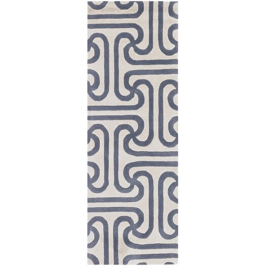 Thomas Paul Tufted Pile Grey Ionic Rug