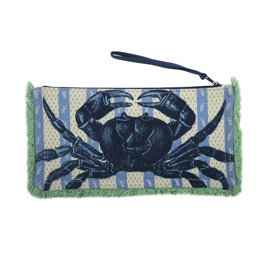 Thomas Paul Crab Fringed Pouch