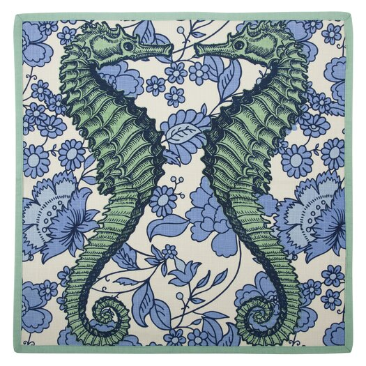 Thomas Paul Vineyard Seahorse Napkin