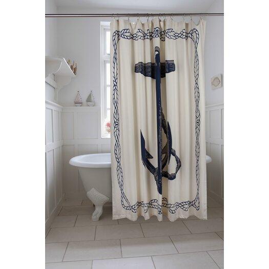 Thomas Paul Bath Anchor Shower Curtain
