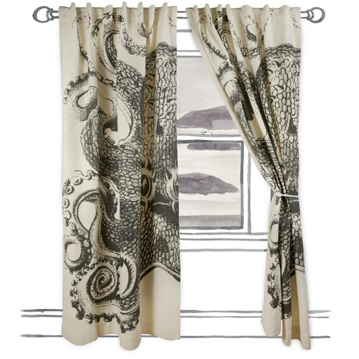 Thomas Paul Octopus Window Curtain