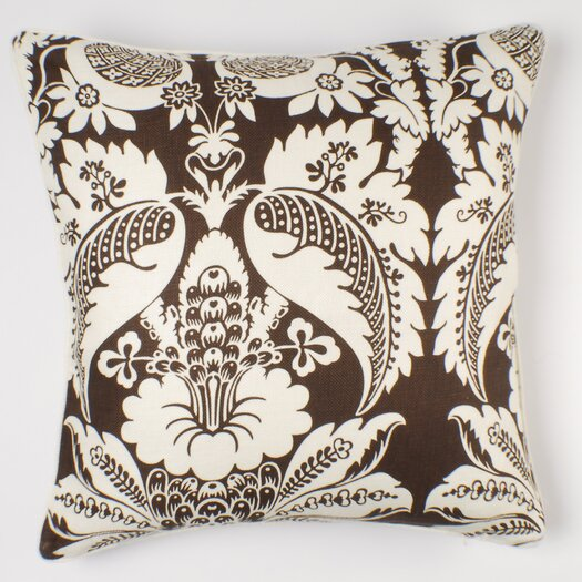"Thomas Paul 22"" Damask Pillow"