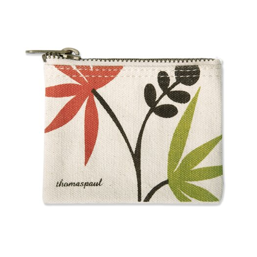 Thomas Paul Palm Coin Purse in Multi