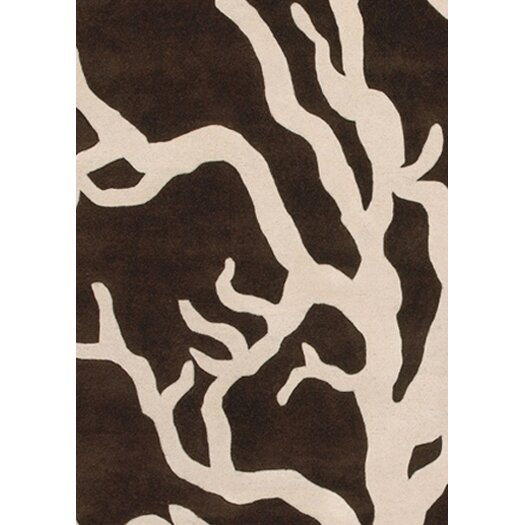 Thomas Paul Tufted Pile Coral Rug