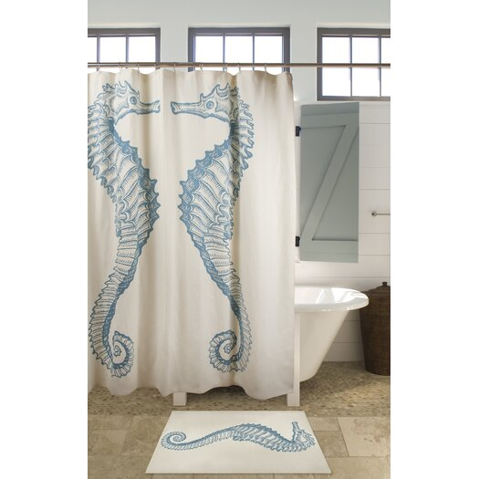 Thomas Paul Sea Horse Shower Curtain