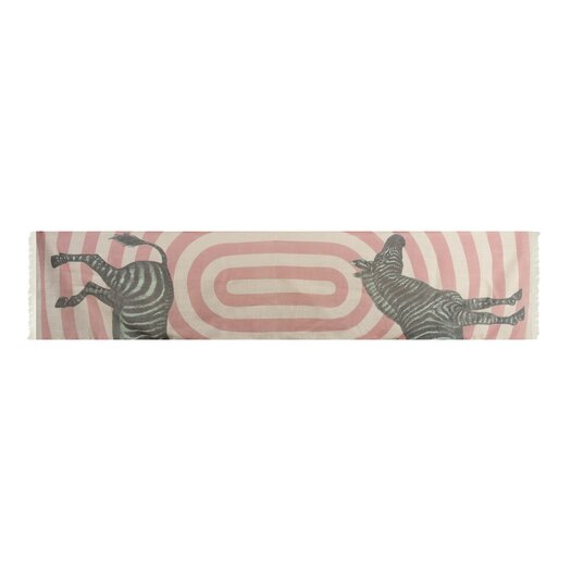 Thomas Paul Zebra Wool Scarf
