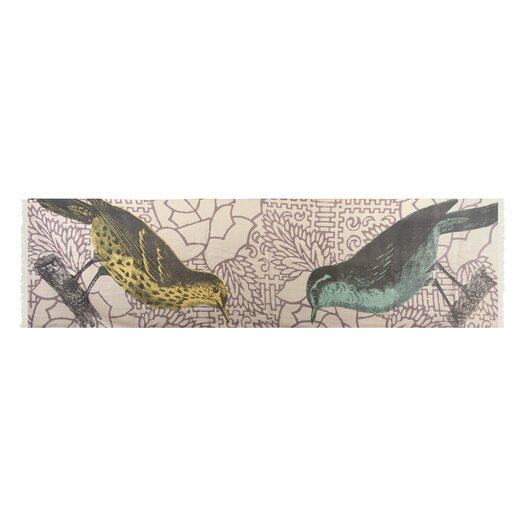 Thomas Paul Birds Wool Scarf
