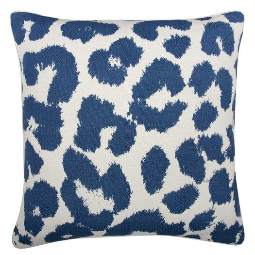 Thomas Paul Fragments Leopard Pillow
