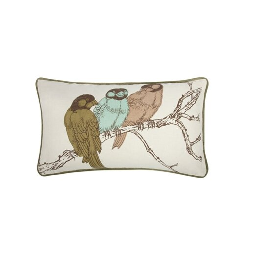 Thomas Paul Yoko Birds 12x20 Pillow