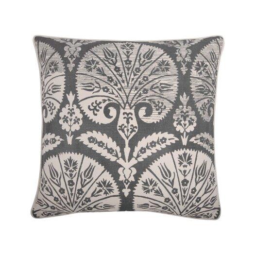 """Thomas Paul 18"""" Batik Fan Pillow"""