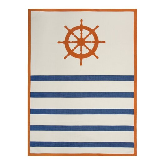 Wheel Tea Towel