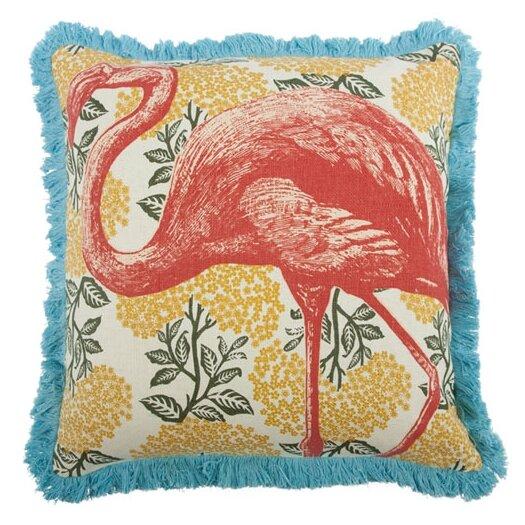 "Thomas Paul 18"" Flamingo Pillow"
