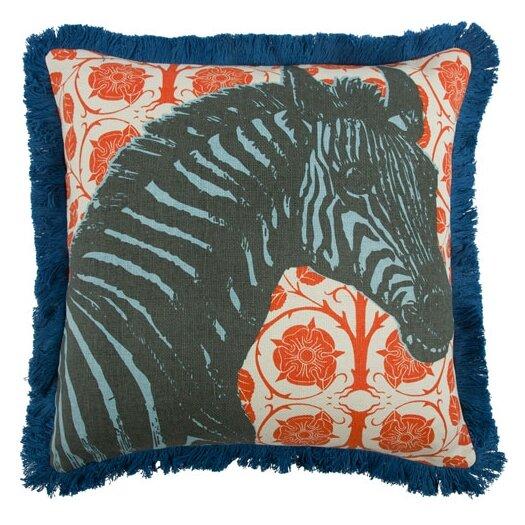 "Thomas Paul 18"" Zebra Pillow"