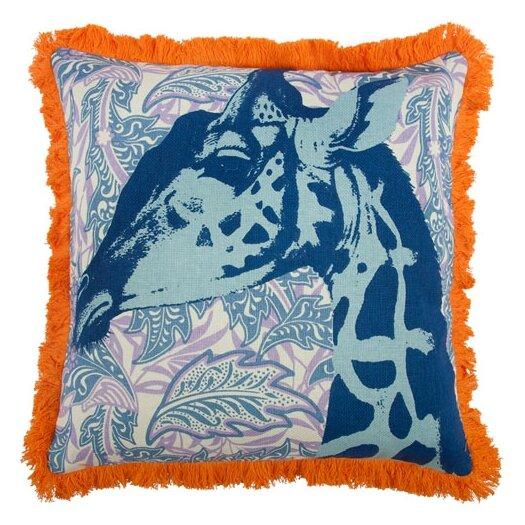 """Thomas Paul 18"""" Giraffe Pillow"""