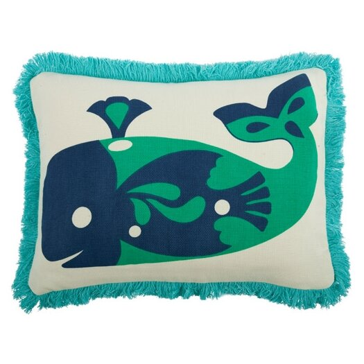 Amalfi Whale 12x20 Pillow