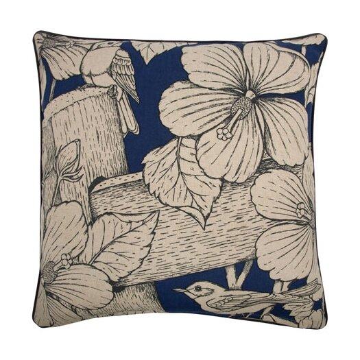 "Thomas Paul 22"" Hibiscus Pillow"