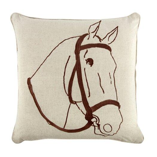 """Thomas Paul 18"""" Thoroughbred Pillow"""