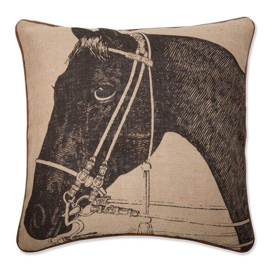 """Thomas Paul 22"""" Horse Pillow"""